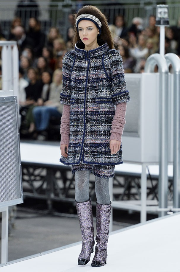 Inverno 2018 da Chanel (Foto: Catwalking / Getty Images)