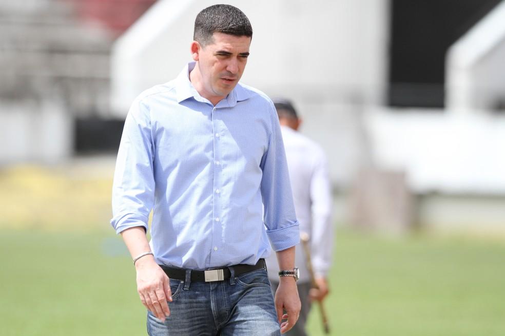Constantino Júnior, presidente do Santa Cruz — Foto: Marlon Costa/Pernambuco Press