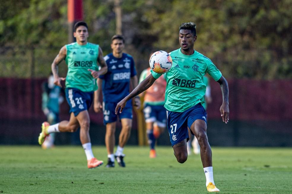 Bruno Henrique Flamengo — Foto: Marcelo Cortes / Flamengo