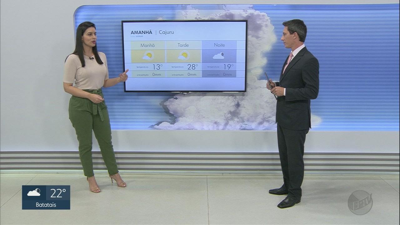 Veja a previsão do tempo para a região de Ribeirão Preto nesta sexta-feira (2)