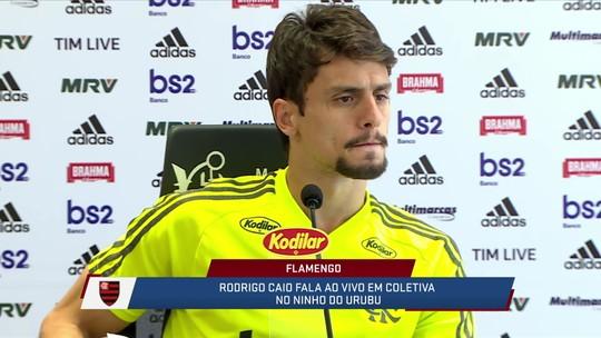 Rodrigo Caio fala sobre preparação do Flamengo para a final do Carioca contra o Vasco