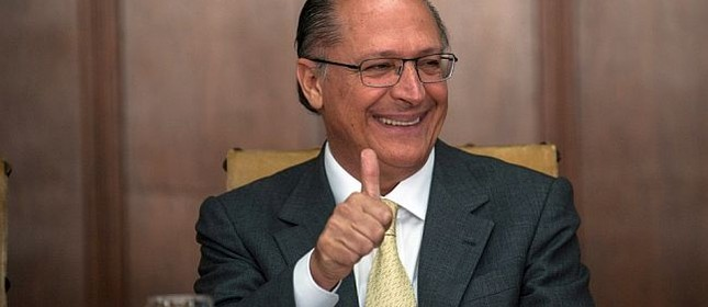 Geraldo Alckmin, governador de São Paulo, padrinho da candidatura de João Doria a prefeitura de São Paulo