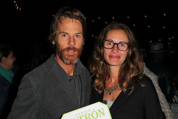 A atriz Julia Robert com o marido, o fotógrafo e cinegrafista Danny Moder (Foto: Getty Images)