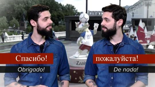 Copa na Rússia: G1 faz guia de sobrevivência para aprender o 'basicão' do russo