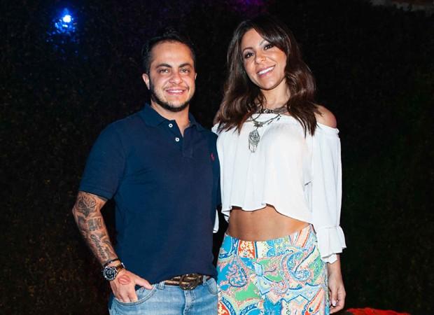 Thammy e Andressa (Foto: Brazil News)