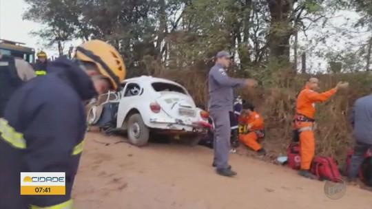 Morre quarta vítima de acidente em estrada rural entre Varginha e Elói Mendes, MG