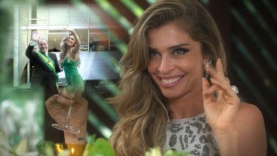 Final de 'A Lei do Amor': Luciane prevê futuro cheio de glamour