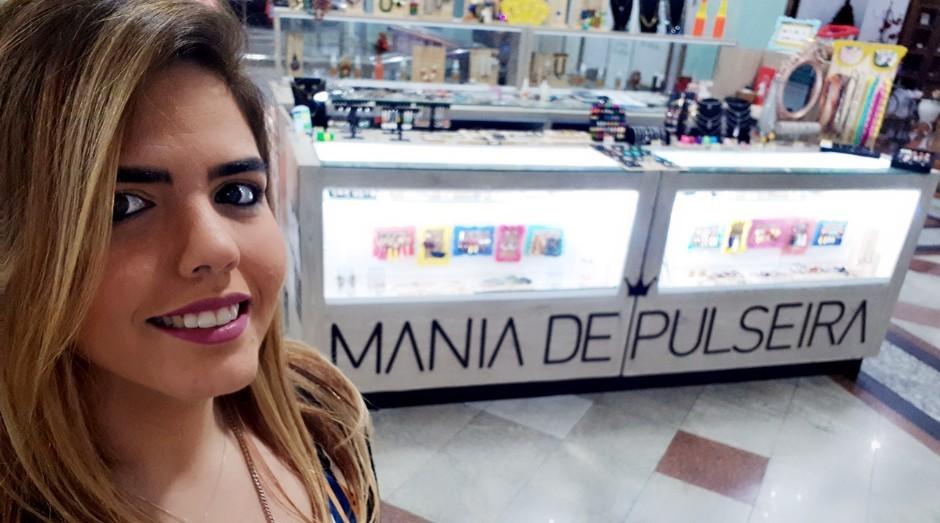 Carollina Souza, fundadora da Mania de Pulseiras (Foto: Divulgação)