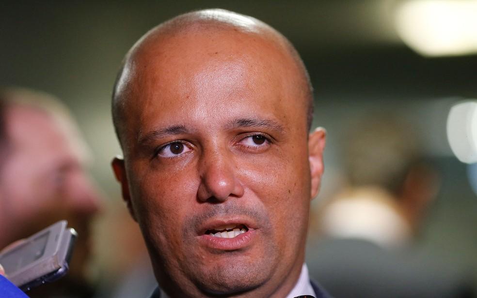 O líder do governo na Câmara, deputado Major Vitor Hugo (PSL) — Foto: Dida Sampaio/Estadão Conteúdo