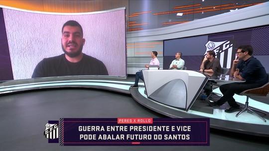 Vídeo: repórter explica a confusão política no Santos