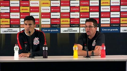 """Loss lamenta derrotas do Corinthians em casa, mas diz: """"Não traz reflexo para a próxima fase"""""""