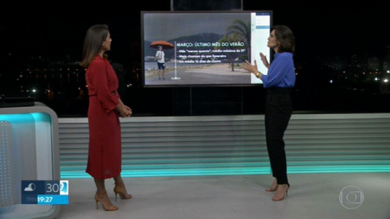 Semana começa com possibilidade de chuva no Rio