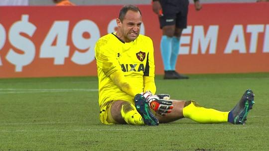Após confirmação de fratura, Magrão relata tristeza por deixar Sport em momento delicado
