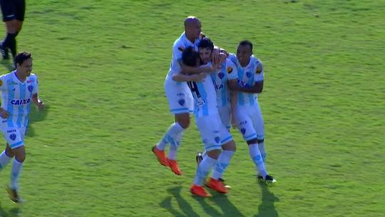 Assista aos gols de Paysandu 1 x 1 Criciúma