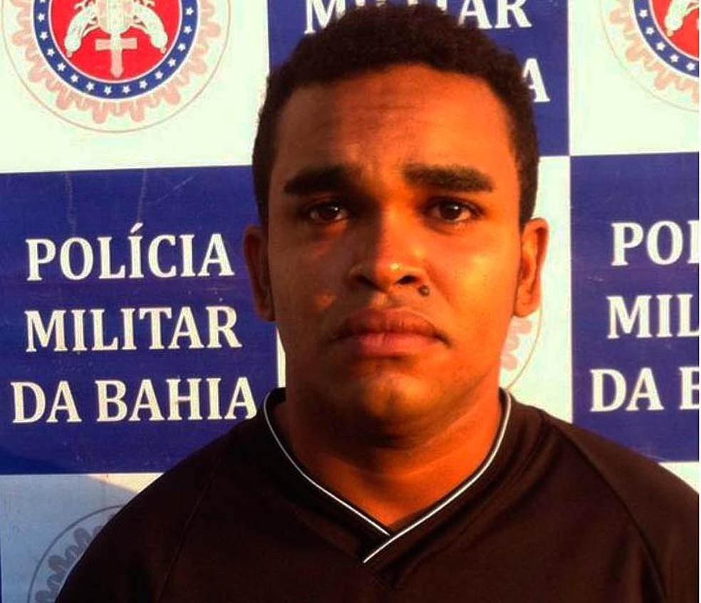 Homem é preso na Bahia suspeito de espancar filho de 9 anos em Paulo Afonso (Foto: Divulgação/Polícia Militar)