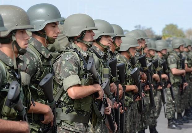 Forças Armadas ; soldados do Exército ;  (Foto: Valter Campanato/Agência Brasil)
