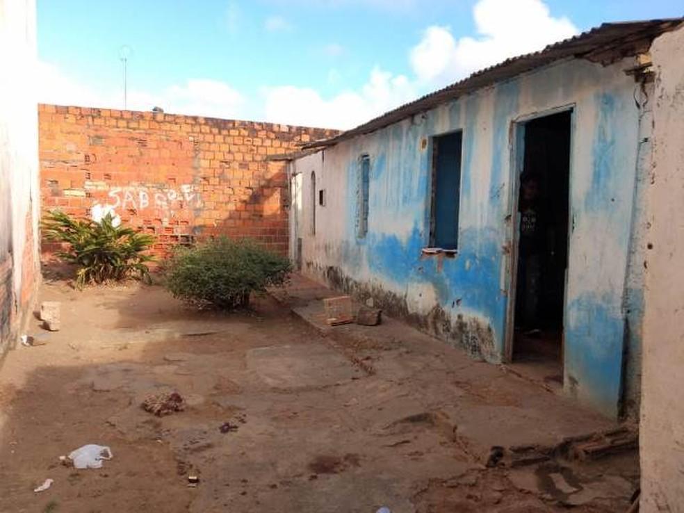 Caso ocorreu no bairro Gabriela I, em Feira de Santana, na manhã desta terça-feira (19).  — Foto: Acorda Cidade