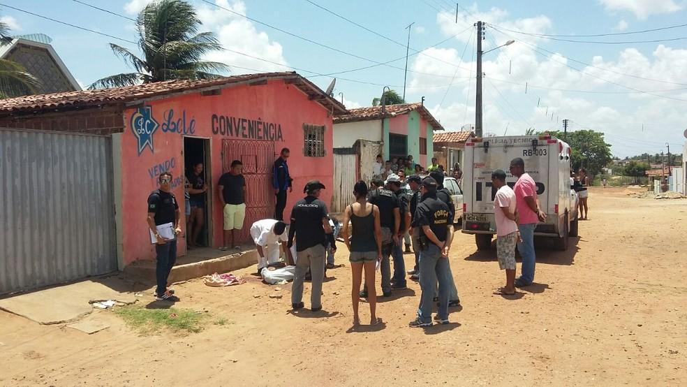 Mortes em Ceará-Mirim teriam mesmas características, segundo MPRN  (Foto: Mirella Lopes/Inter TV Cabugi )