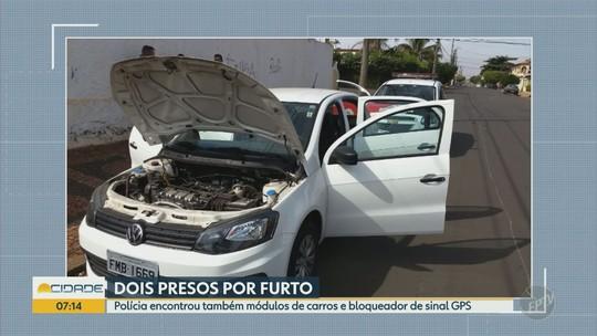 Criminosos são presos suspeitos de furtar veículos em Santa Bárbara d'Oeste