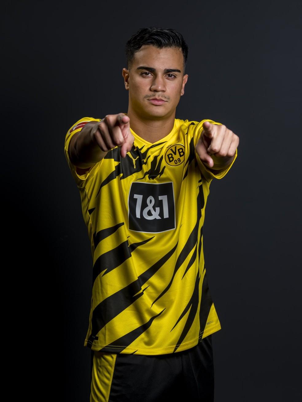 Reinier com a camisa do Borussia Dortmund — Foto: Reprodução de Twitter
