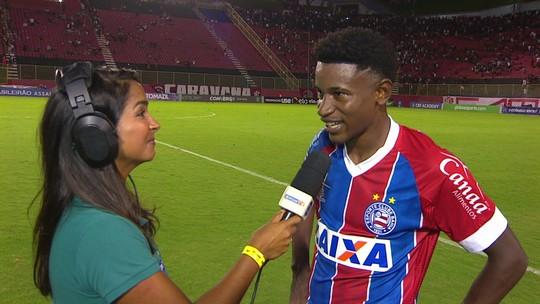 """Autor de gol do empate, Ramires analisa empate com o Vitória: """"Muito difícil"""""""