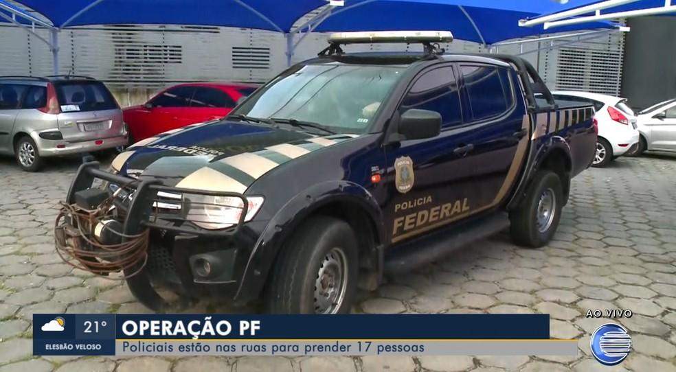 Operação Grande Família foi deflagrada na manhã desta quarta-feira (15) — Foto: Reprodução/TV Clube