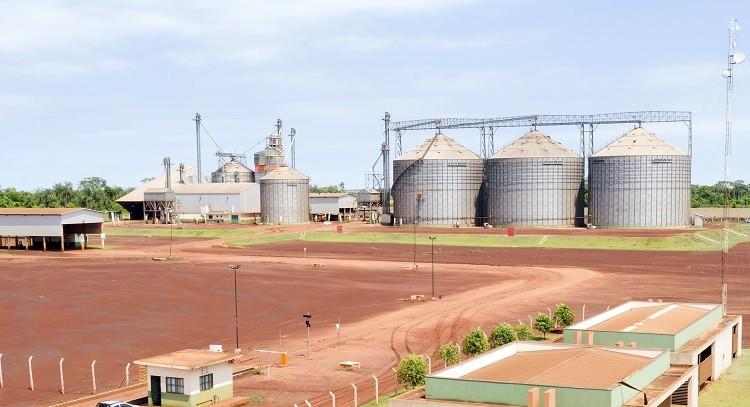 Coamo adquiriu nova unidade para armazenamento e secagem de grãos em Dourados (MS) (Foto: Coamo/Divulgação)