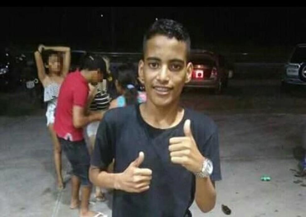 -  Adolescente é assassinado em escola em Horizonte  Foto: Reprodução