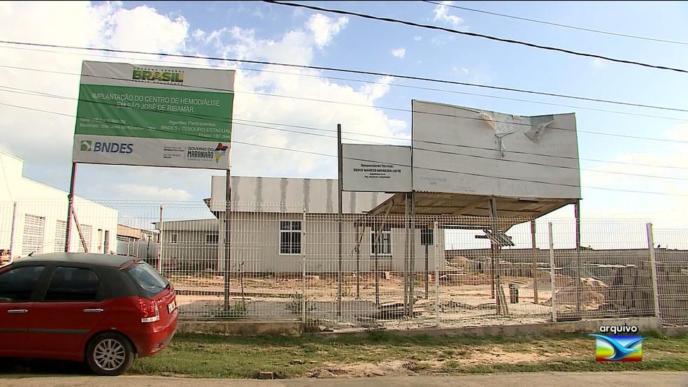 Problema do Centro de Hemodiálise ainda não foi resolvido no Maranhão — Foto: Reprodução/ TV Mirante