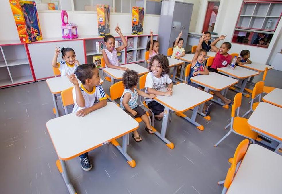 Escolas municipais de Gavião Peixoto têm ensino integral (Foto: Thiago K. Takeda/Divulgação)