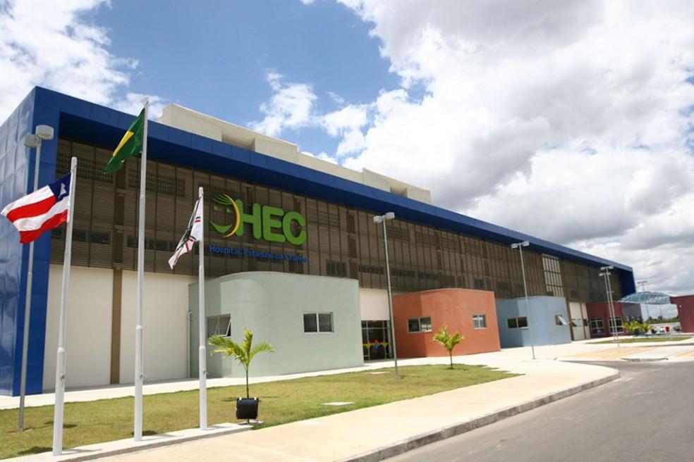 Criança foi levada para o Hospital da Criança — Foto: Divulgaçãop/ HEC