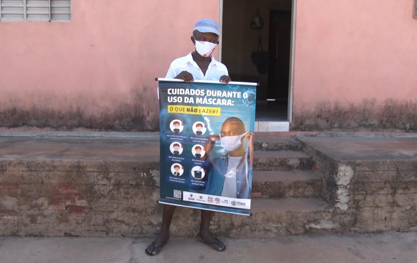 Punição com cartazes serviu de exemplo para educar sobre uso da máscara, avalia juíza