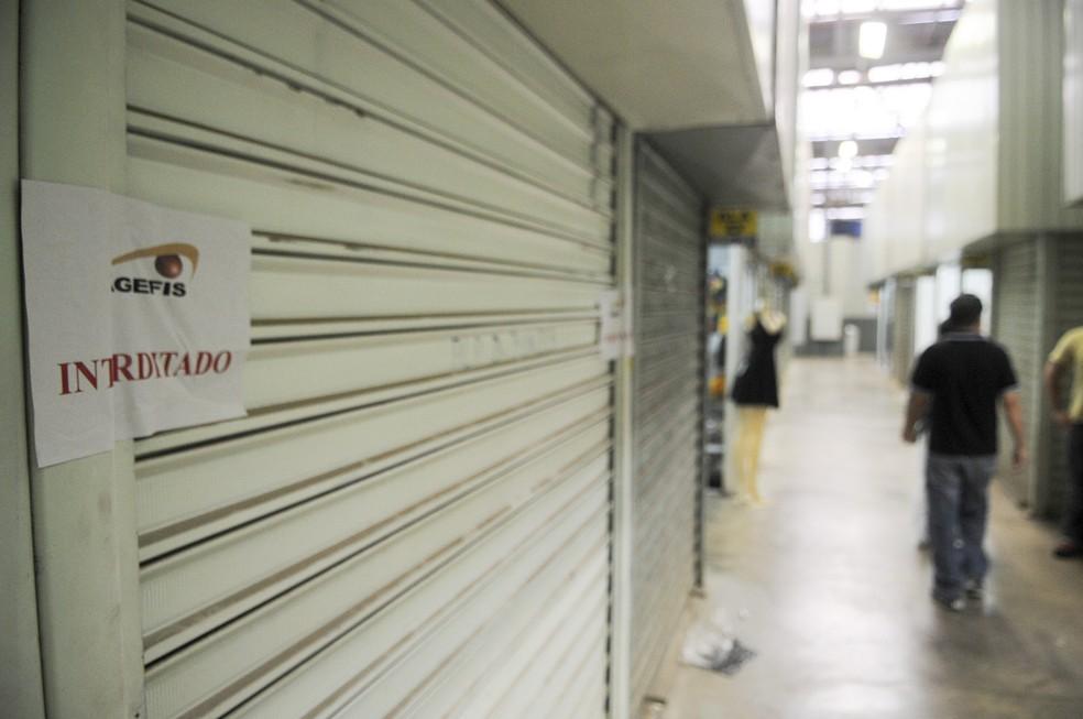 Agefis sinalizou bancas que foram retomadas (Foto: Gabriel Jabur/Agência Brasília)