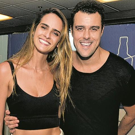 Joaquim Lopes e Marcella Fogaça (Foto: Cristina Granato)