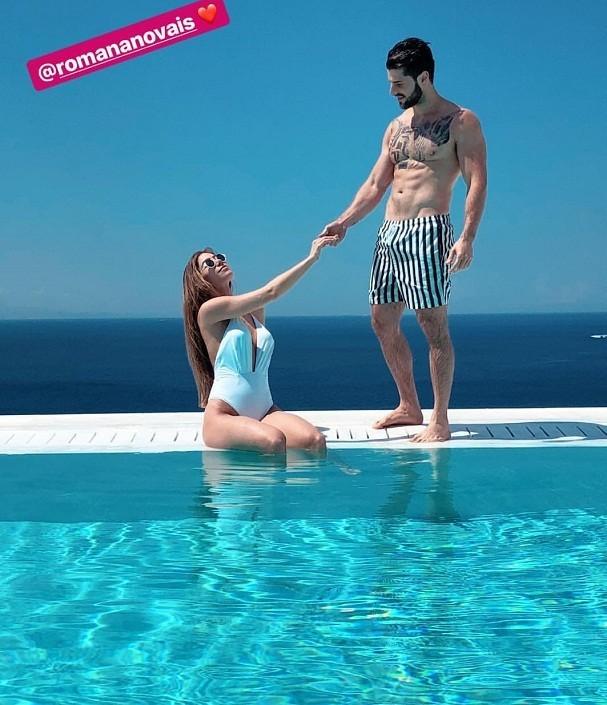 Romana e Alok  (Foto: reprodução/instagram)