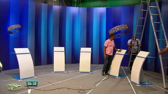Candidatos à Prefeitura do Recife participam de debate da TV Globo