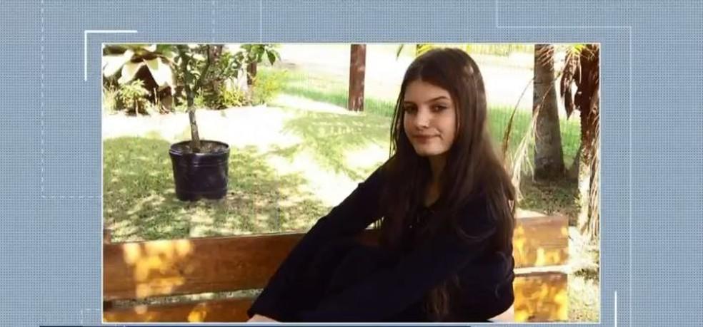 Brenda da Rocha Carvalho — Foto: Reprodução/NSC TV