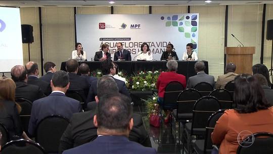 Autoridades e especialistas discutem desafios da proteção ao meio ambiente em seminário
