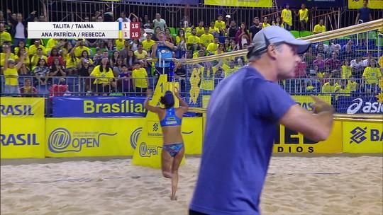 Com polêmica de arbitragem, Ana Patrícia/Rebecca vence SuperPraia e leva maior premiação do Brasil