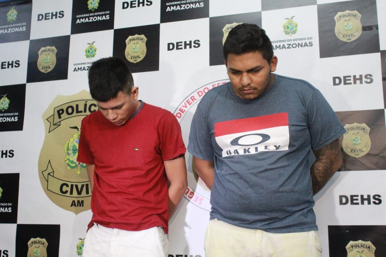 Trio é preso suspeito de matar homem que proibiu venda de drogas na frente da própria casa, em Manaus  - Notícias - Plantão Diário