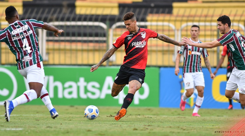 Fluminense Athletico — Foto: Gustavo Oliveira/Athletico