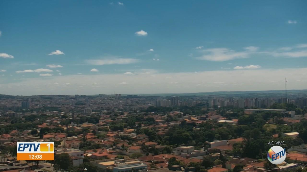 Veja a previsão do tempo para a região de Ribeirão Preto nesta quinta-feira (8)