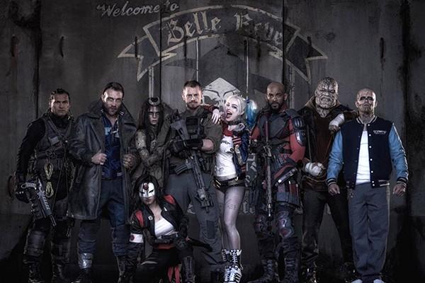 Imagem do elenco de 'Esquadrão Suicida' (Foto: Reprodução Twitter)