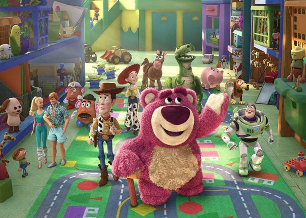 Cena de 'Toy story 3' — Foto: Reprodução