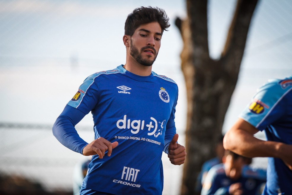 Lucas Silva deixou o Cruzeiro durante o ano — Foto: Vinnicius Silva/Cruzeiro