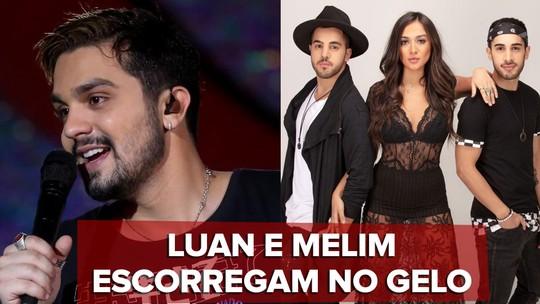 'Choque térmico' x 'Gelo': Luan e Melim comprovam 'projotização' do pop brasileiro