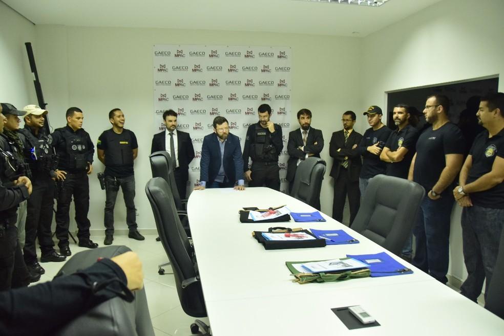 Operação investiga irregularidades na Empresa Municipal de Urbanização de Rio Branco (Emurb) (Foto: Divugação/MP-AC)