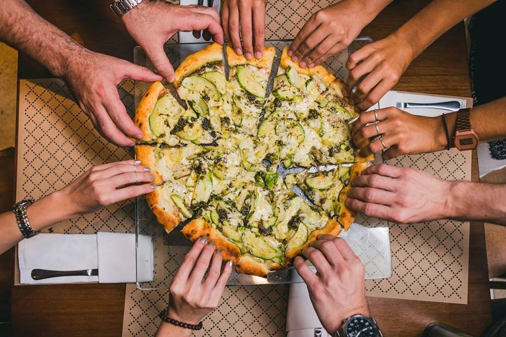 Dia da pizza é comemorado nesta quarta-feira (10) — Foto: Mamma Jamma / Divulgação