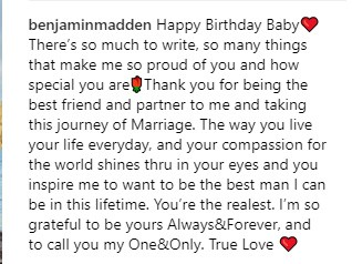 Benji Madden (Foto: Instagram)