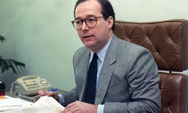 O ministro Celso de Mello, em imagem de junho de 1990